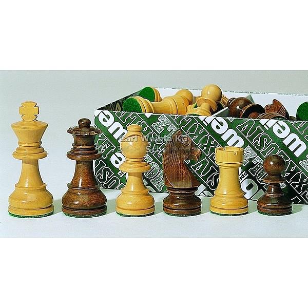 Γερμανικά staunton σέτ πιόνια για σκάκι χωρίς βάρος με ύψος βασιλιά 8 εκ.