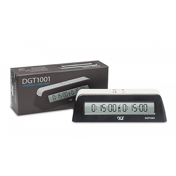 DGT Νο 1001 ψηφιακό σκακιστικό χρονόμετρο / ρολόι