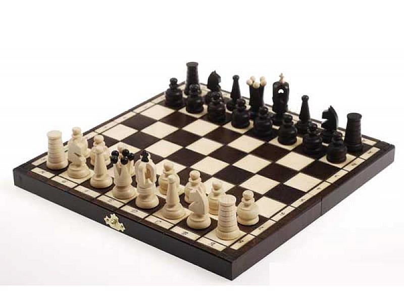 Σκάκι ταξιδίου ξύλινο deluxe