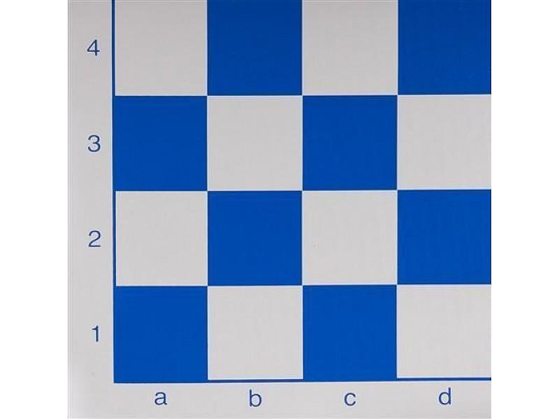 Σκάκι βινυλίου μπλέ 50X50 εκ.