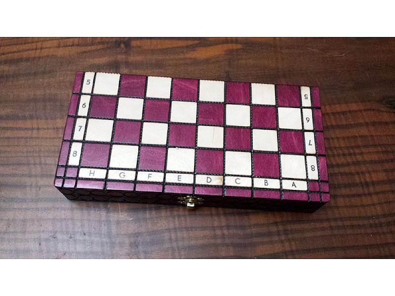 Σκάκι ταξιδίου CH151 cherry