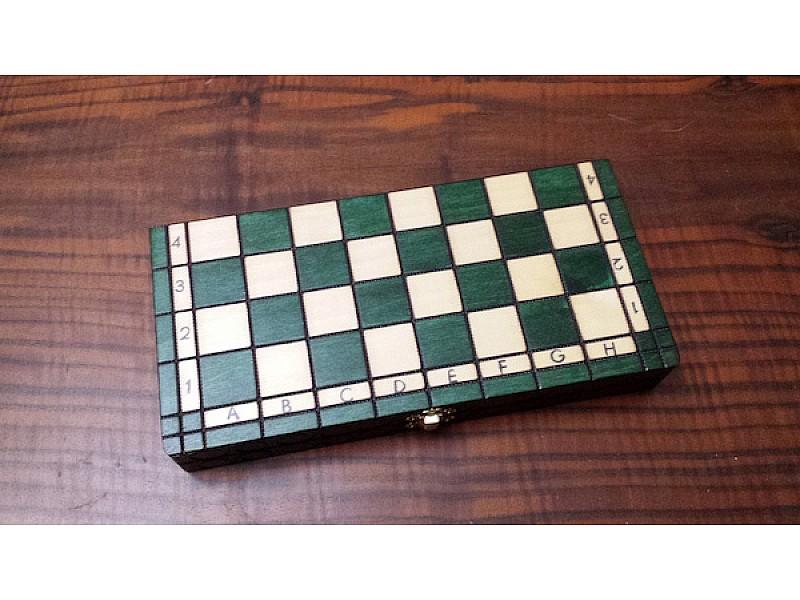 Σκάκι ταξιδίου CH151 πράσινο