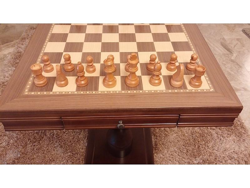 Σκάκι τραπέζι (Κωδικός Νο 1057 καφέ)