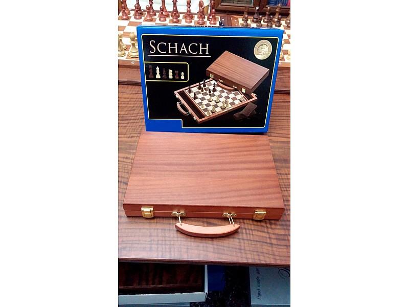 Σετ σκάκι σπαστό ταξιδίου βαλίτσακι ξύλινο