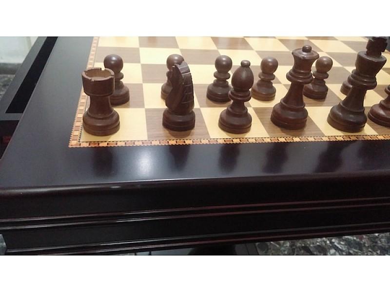 Σκάκι τραπέζι (Κωδικός Νο 1057 Dark)
