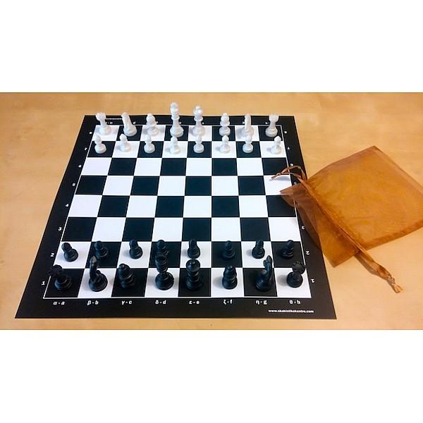Πλαστικοποιημένη σκακιέρα 32 Χ 32 εκ.