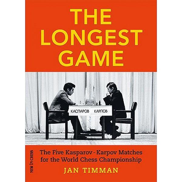 The Longest Game , The Five Kasparov — Karpov Matches for the World Chess Championship - Συγγραφέας: Jan Timman