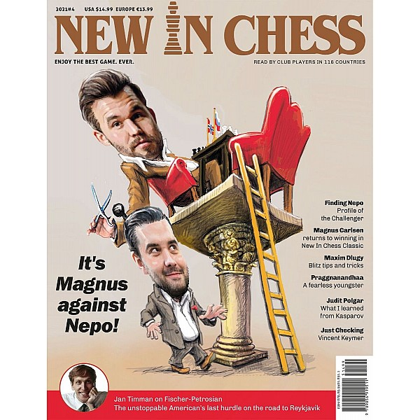 New In Chess 2021/4: The Club Player's Magazine