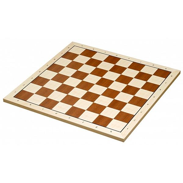 Σκακιέρα ξύλινη Belgrad 50 Χ 50 εκ. (με συντεταγμένες)