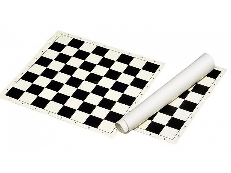 Σκακιέρα βινυλίου μαύρη 45X45 εκ.