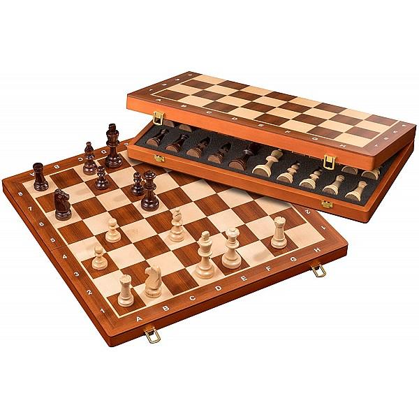 Σκάκι ξύλινο 48 Χ 48 εκ με ξύλινα πιόνια