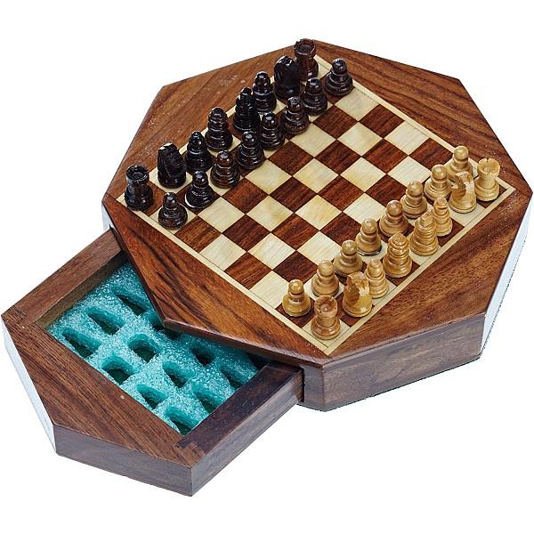 Σκάκι ταξιδίου μαγνητικό πολύγωνο