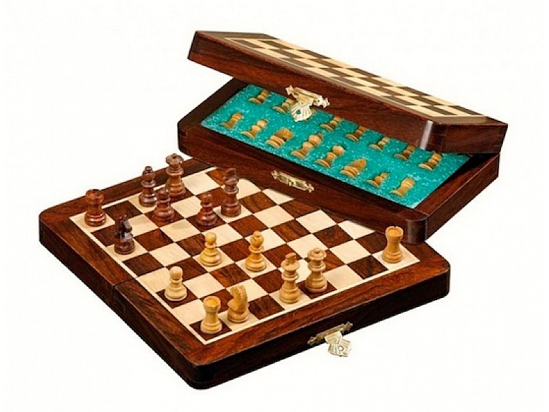 Σκάκι Μαγνητικό ξύλινο