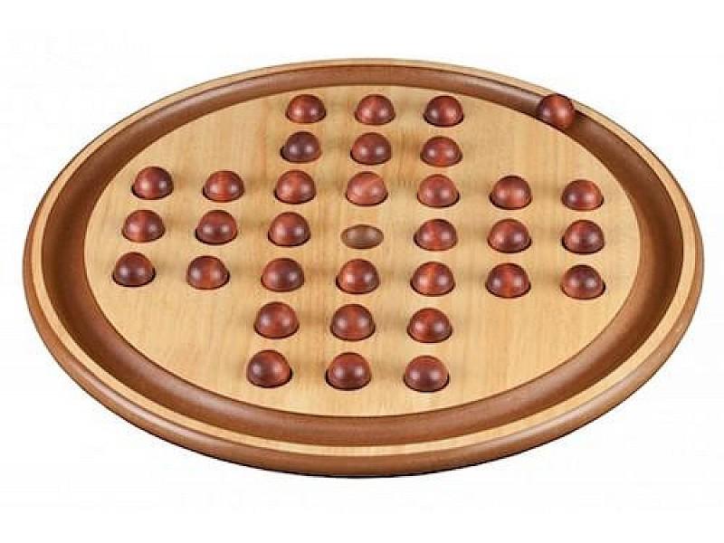 Σόλο επιτραπέζιο ξύλινο  (διάμετρος 50 εκ.)