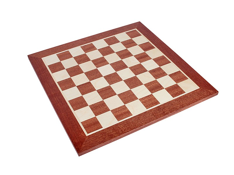 Σκακιέρα μαόνι  σε πλακέτα  Giant deluxe (59 Χ 59 εκ. - 6.4 εκ.καρέ)