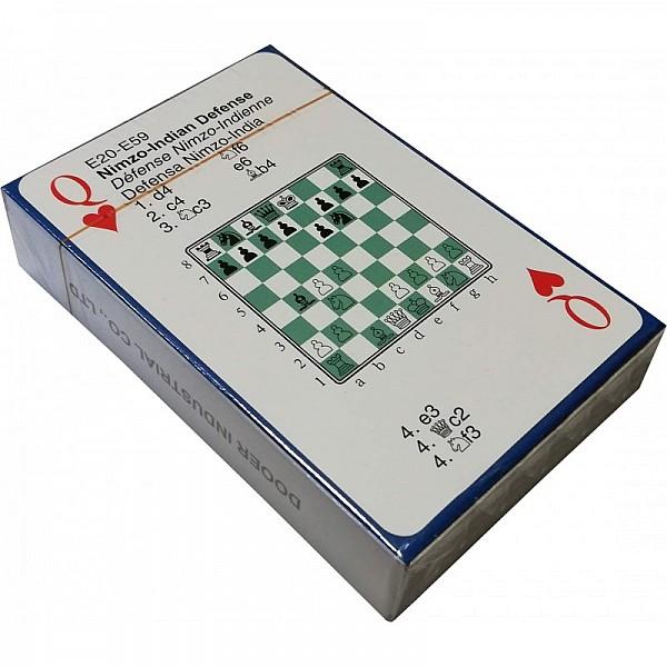 Τράπουλα με σκακιστικά ανοίγματα