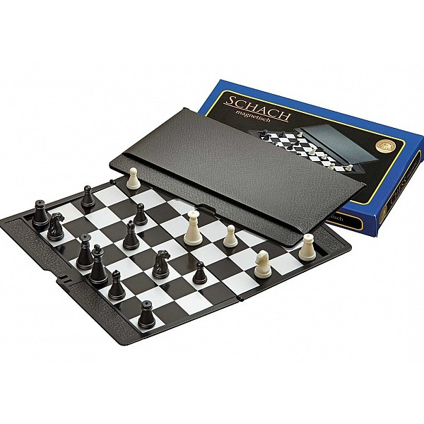 Μαγνητική σκακιέρα προπόνησης - μελέτης - ταξιδίου