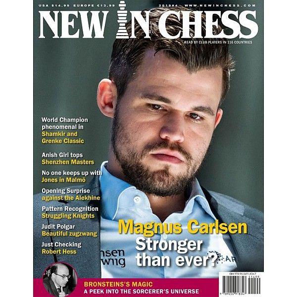 New In Chess 2019/4: The Club Player's Magazine