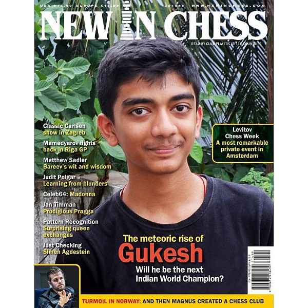 New In Chess 2019/6: The Club Player's Magazine