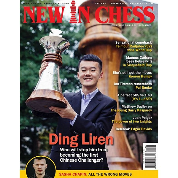 New In Chess 2019/7: The Club Player's Magazine