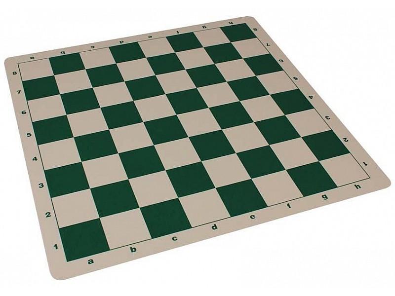 Σκακιέρα πράσινη σιλικόνης 50 Χ 50 εκ. , 5.7 εκ. τετράγωνο