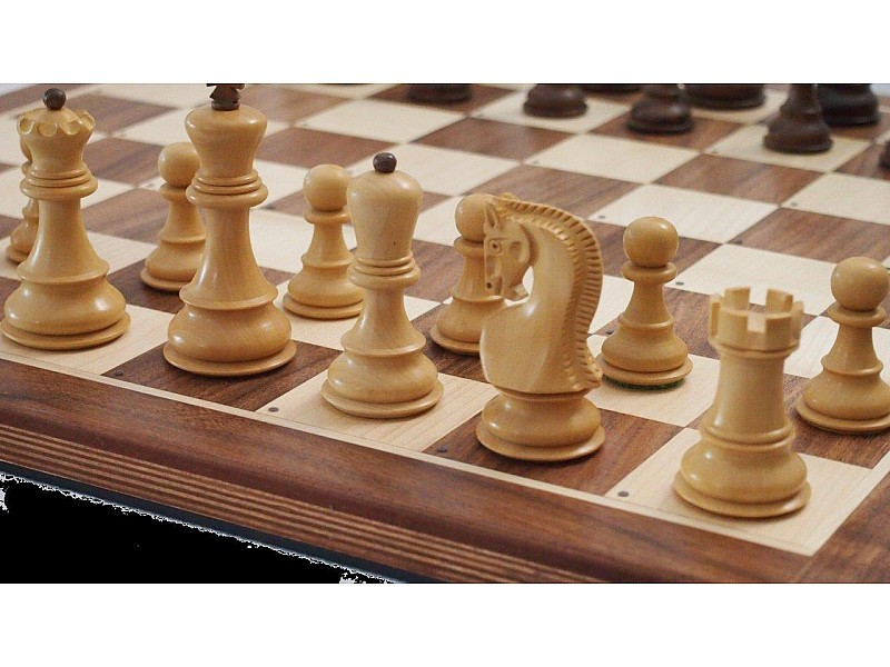 Ηλεκτρονική σκακιέρα  Certabo Fazio Brown 50 X 50 εκ. και διάσταση καρέ 5.5 εκ.