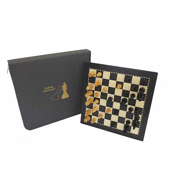 Σκάκι ταξιδίου ξύλινο μαγνητικό italfama