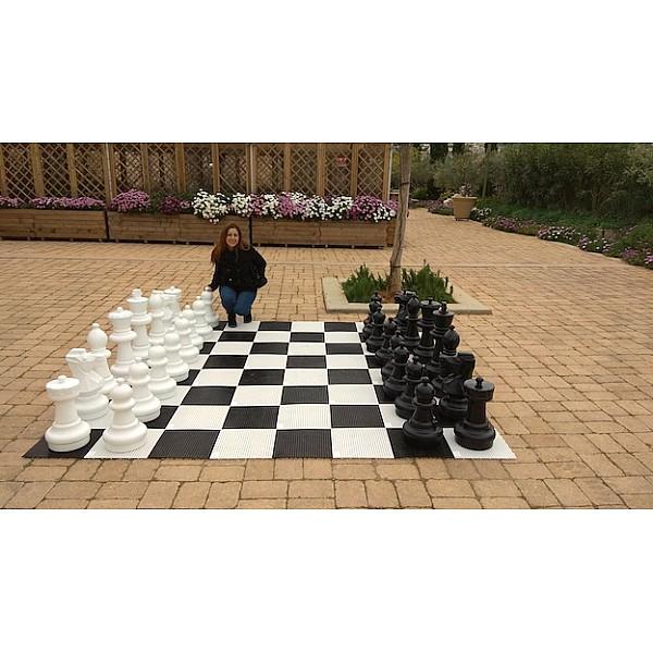 Σκάκι κήπου - Πιόνια σετ μέ ύψος Βασιλιά 63 εκ.