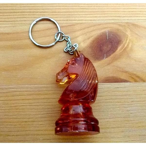 Μπρελόκ άλογο amber