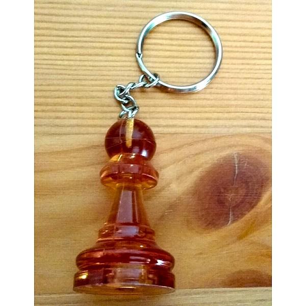 Μπρελόκ στρατιώτης amber