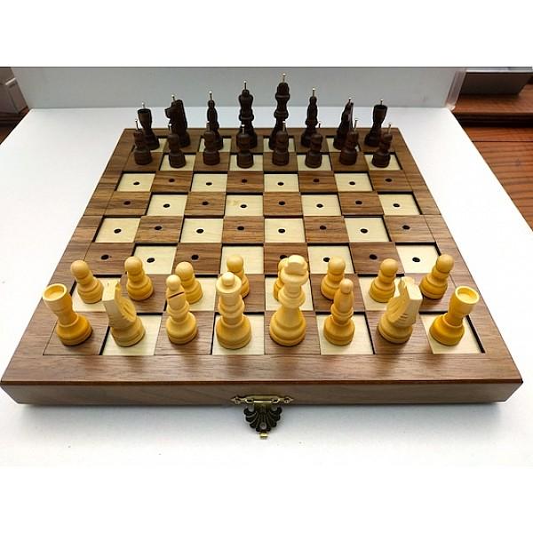 Σκακιέρα για τυφλούς (σπαστή)