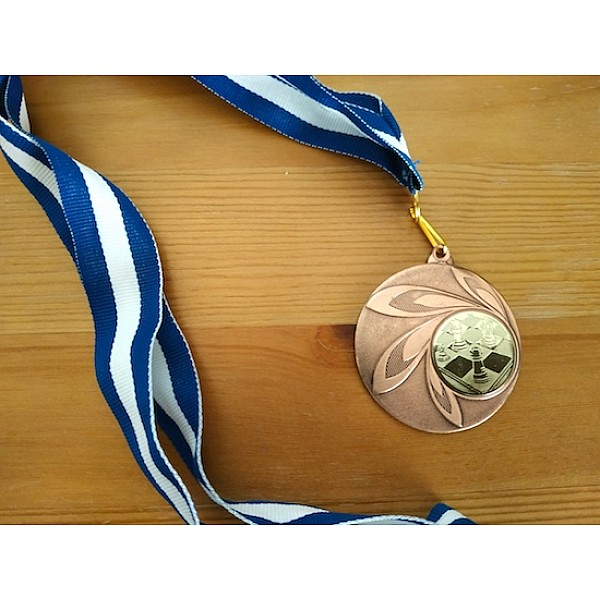 Μετάλλιο βράβευσης Deluxe (χάλκινο)