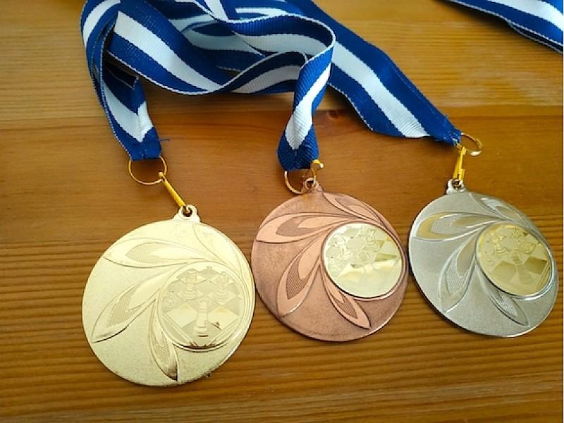 Μετάλλιο βράβευσης Deluxe (ασημένιο)