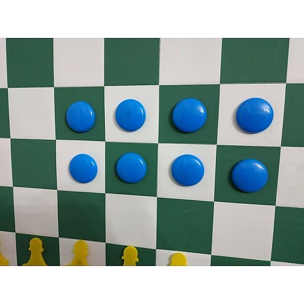 Μαγνήτες ένδειξης τοποθέτησης πιονιών για μαγνητικές εκπαιδευτικές σκακιέρες