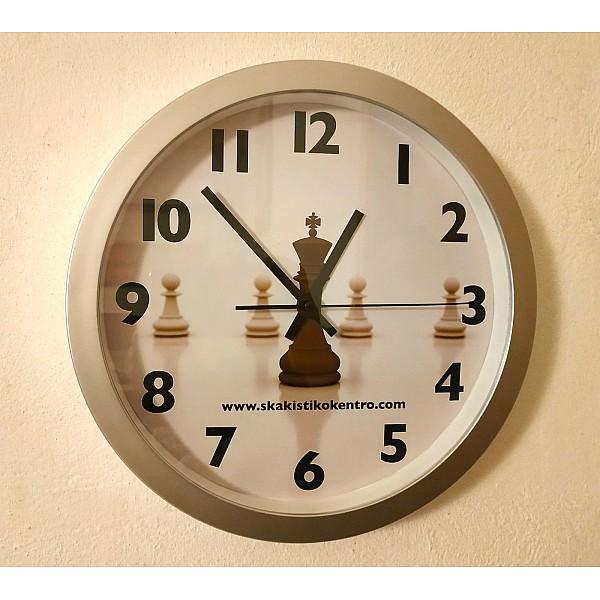 Ρολόγια τοίχου με σκακιστικά θέματα