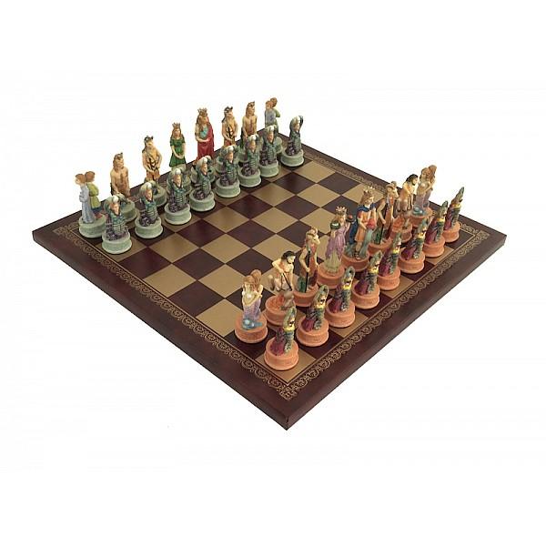 Italfama ιστορικό σέτ με θέμα Zodiak και σκακιέρα πλακέτα