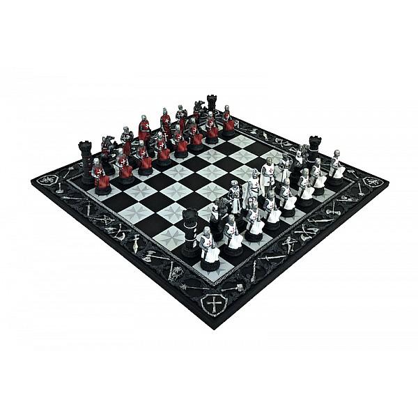 Italfama ιστορικό σέτ με θέμα Crusades και σκακιέρα πλακέτα