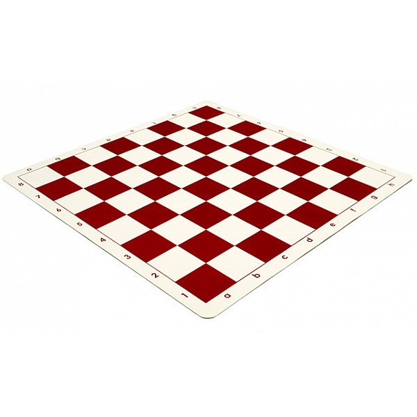 Σκάκι βινυλίου κόκκινο 50X50 εκ.