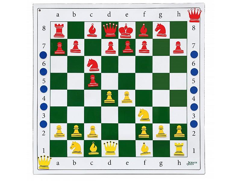 Εκπαιδευτική σκακιέρα 80 Χ 80 (για όλες τις επιφάνειες)