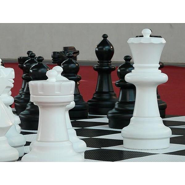 Πιόνι για σκάκι άλογο μαύρο διακοσμητικό / ανταλλακτικό