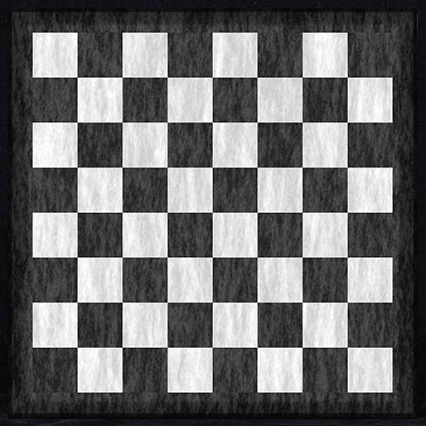 Μαρμάρινη ασπρόμαυρη σκακιέρα  Διάσταση 40 X 40 εκ.