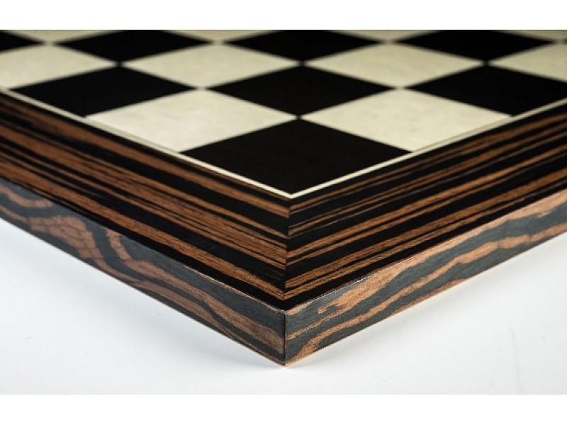 Ματ πλακέτα μαύρη έβενος Deluxe Διάσταση (50 X 50 εκ.)