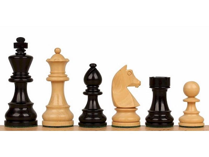 Σέτ πιόνια για σκάκι με βάρος German staunton Νο J33B (ύψος βασιλιά 9.5 εκ.)
