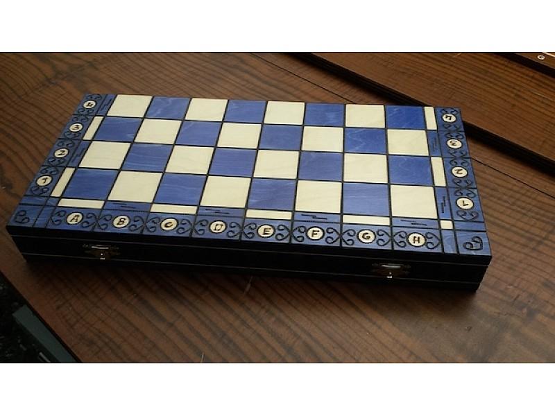 Σκακιέρα Νο CH128B Ambassador Blue edition