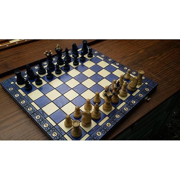 Σκακιέρα Ambassador Blue edition