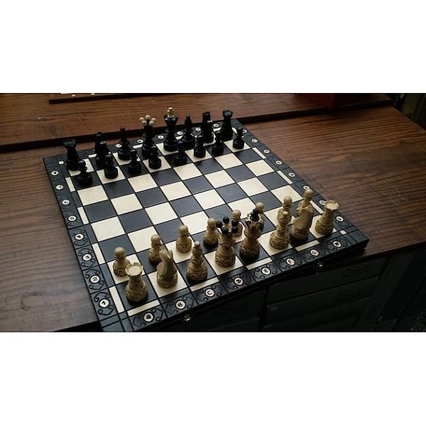 Σκακιέρα Ambassador Black edition