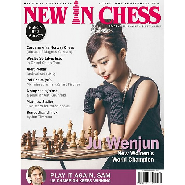 Περιοδικό New In Chess 2018/5: The Club Player's Magazine