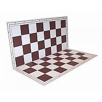 Σπαστή σκακιέρα 50 Χ 50 εκ. καφέ