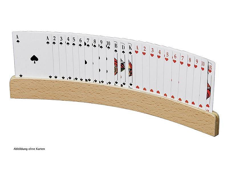 Ξύλινο stand για παίκτη μπρίτζ (μήκος 50 εκ.)