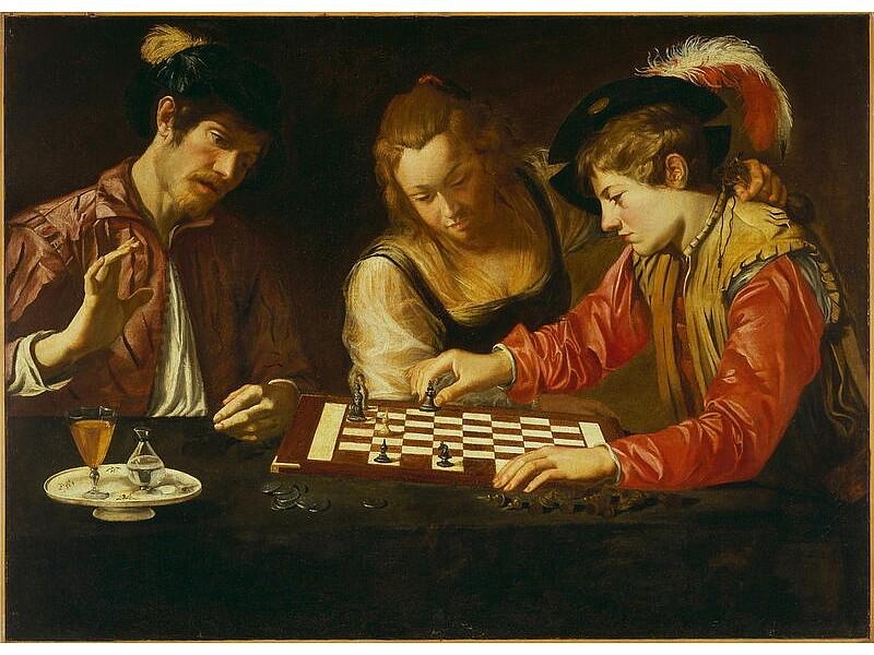 Η τέχνη στο σκάκι (Chess in art) -Λεύκωμα / βιβλίο με την ιστορία του σκακιού μέσα απο τους πίνακες και τις τέχνες